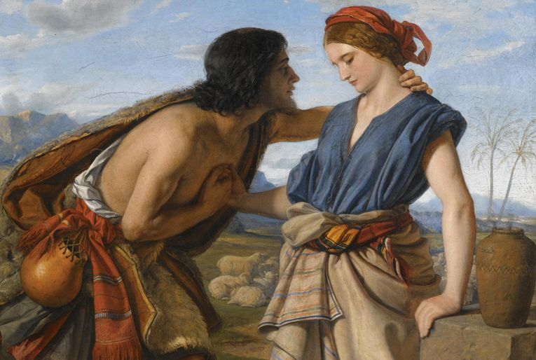 William Dyce. Иаков и Рахиль