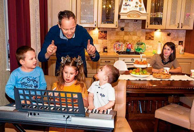 фото спиваковского с семьей вот